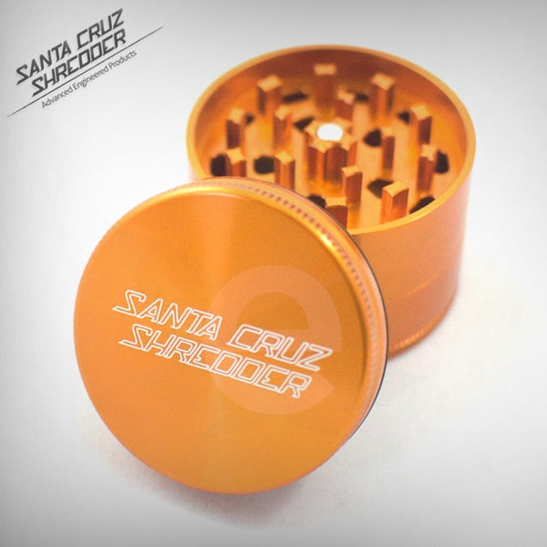 SCS - Small 3 Piece Shredder - Orange , Grinders - Santa Cruz Shredders, eCannabis Shop  - 4