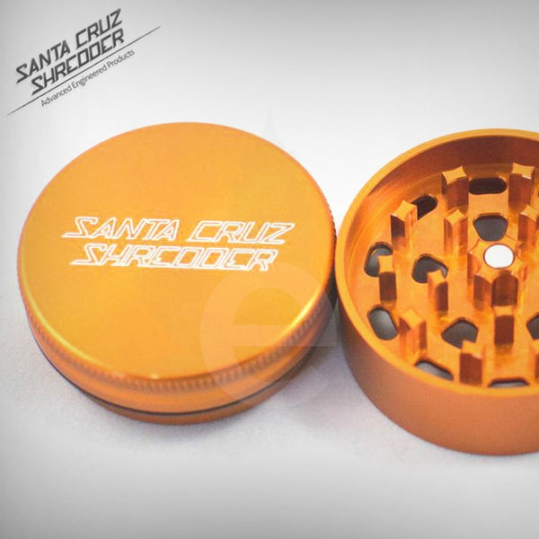 SCS - Small 3 Piece Shredder - Orange , Grinders - Santa Cruz Shredders, eCannabis Shop  - 5