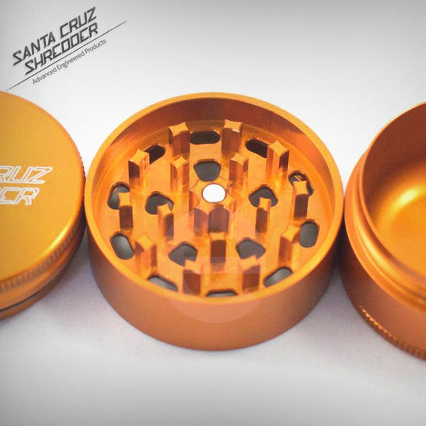 SCS - Small 3 Piece Shredder - Orange , Grinders - Santa Cruz Shredders, eCannabis Shop  - 6
