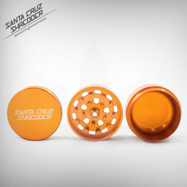 SCS - Small 3 Piece Shredder - Orange , Grinders - Santa Cruz Shredders, eCannabis Shop  - 7