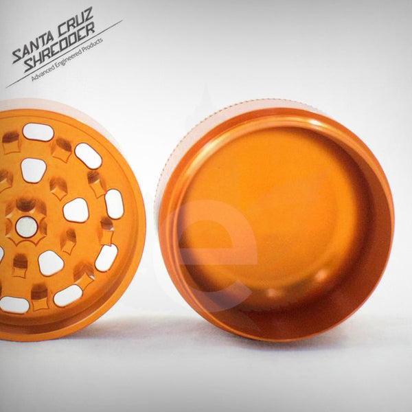 SCS - Small 3 Piece Shredder - Orange , Grinders - Santa Cruz Shredders, eCannabis Shop  - 8