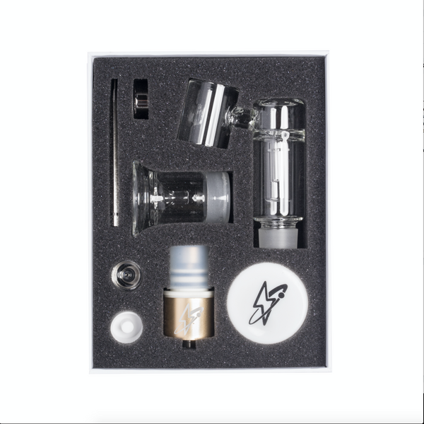 Dabado Vaporizers  Gold Bolt M Pro Kit - 510 Mod Attachment