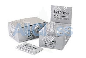 Randy's Classic Papers - Box of 25 , Rolling Papers & Rollers - Randys, eCannabis Shop