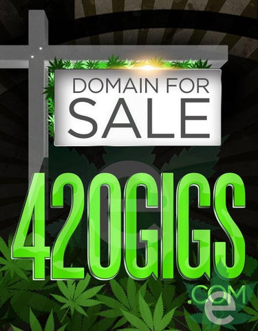 4-20.GIGS.COM , Domains & Websites - eCann, Inc., eCannabis Shop