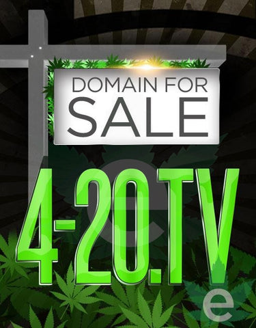 4-20.TV , Domains & Websites - eCann, Inc., eCannabis Shop