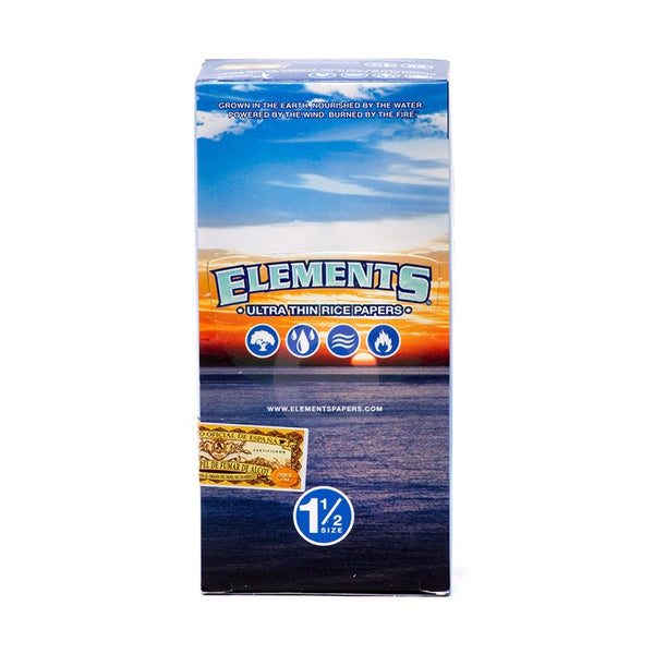 Elements Rice Rolling Papers 1 1/2""