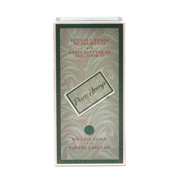 Pure Hemp Rolling Papers 1 1/2""
