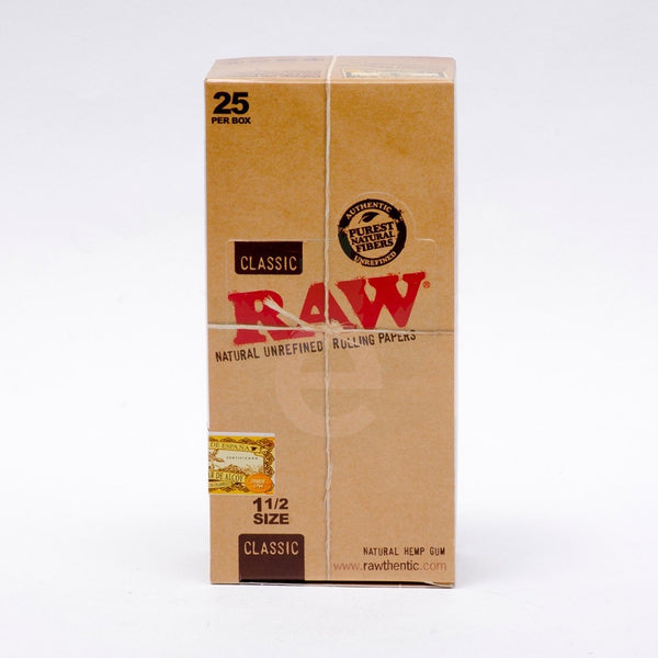 "RAW 1 1/2"" Rolling Papers"