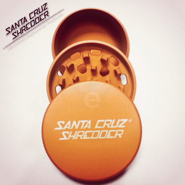 SCS - Small 3 Piece Shredder - Orange , Grinders - Santa Cruz Shredders, eCannabis Shop  - 14