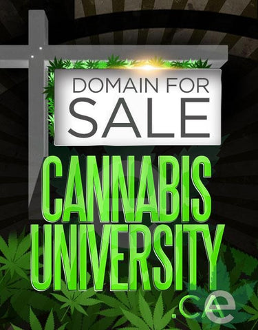 CANNABISUNIVERSITY.CA , Domains & Websites - eCann, Inc., eCannabis Shop