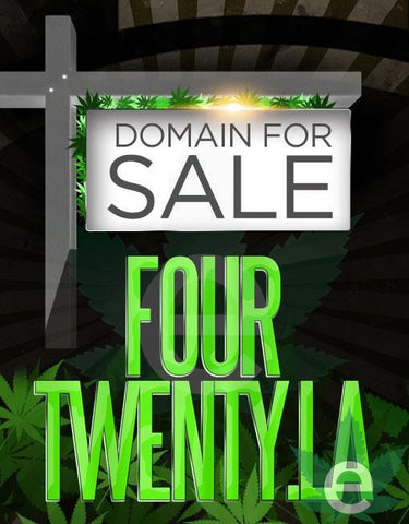 FOURTWENTY.LA , Domains & Websites - eCann, Inc., eCannabis Shop