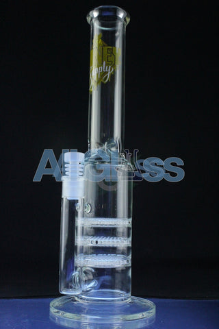 Honey Supply Fat Triple Stack Honey comb Tube , Functional Glass Art,Scientific Glass,Glass - Honey Supply Glass, eCannabis Shop  - 1