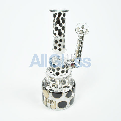 JAG x Hitman Glass Cake Rig w/ Phase 2 Perc Collab , Hitman Glass,Special Deals,4/20 Specials,Functional Glass Art,Scientific Glass,Back to School Sale,Glass,Frontpage - AllGlass.com, eCannabis Shop  - 1