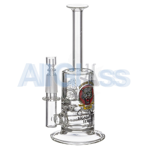 Jerome Baker Designs Signature Series Mini Vapor Oil Rig with Slitted Inline Perc & Turbine Disc , Glass,Jerome Baker Designs - Jerome Baker Designs, eCannabis Shop  - 5