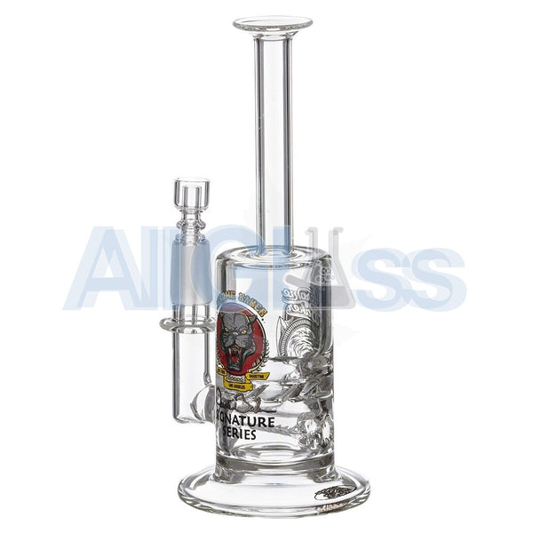 Jerome Baker Designs Signature Series Mini Vapor Oil Rig with Slitted Inline Perc & Turbine Disc , Glass,Jerome Baker Designs - Jerome Baker Designs, eCannabis Shop  - 6