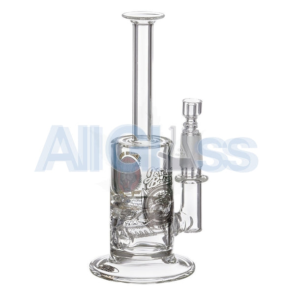 Jerome Baker Designs Signature Series Mini Vapor Oil Rig with Slitted Inline Perc & Turbine Disc , Glass,Jerome Baker Designs - Jerome Baker Designs, eCannabis Shop  - 7
