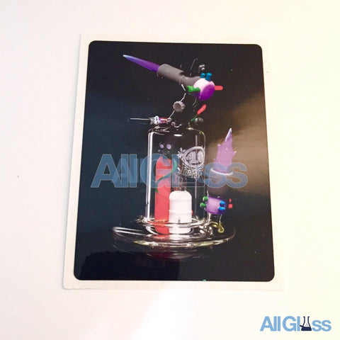 4.0 Glass - Torch Rig Sticker , Apparel & Lifestyle,July Sale - AllGlass.com, eCannabis Shop
