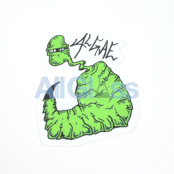 Algae Glass Sticker