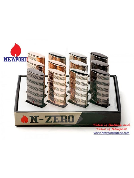 N-Zero Premium Lighter - Gold , Smoking Accessory - Newport Butane, eCannabis Shop  - 2