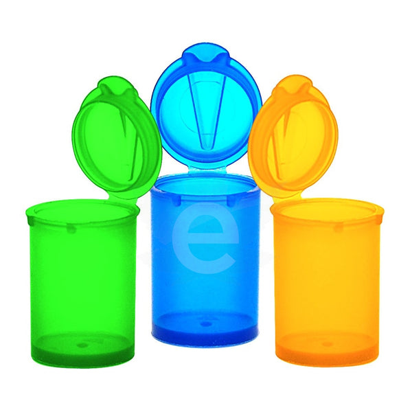 Pop Top Concentrate Containers Assorted 5ML