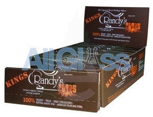 Randy's Roots KING SIZE Papers - Box of 25 , Randy's Rolling Papers,Rolling Papers,July Sale - Randys, eCannabis Shop
