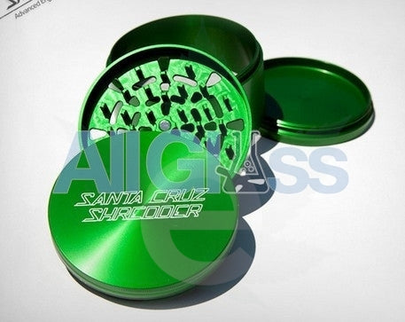 Santa Cruz Shredder Large 4-piece Grinder - Green