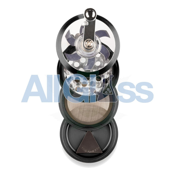 AEROSPACED 4 Piece Grinder/Sifter with Mill Handle , July Sale,Grinders - VapeWorld, eCannabis Shop  - 10