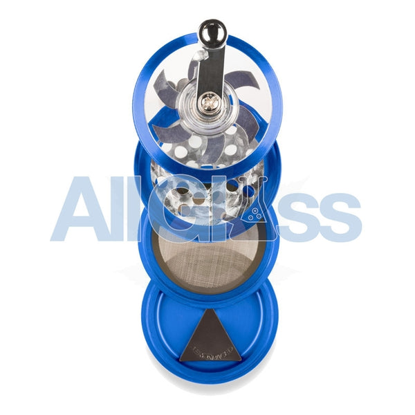 AEROSPACED 4 Piece Grinder/Sifter with Mill Handle , July Sale,Grinders - VapeWorld, eCannabis Shop  - 11