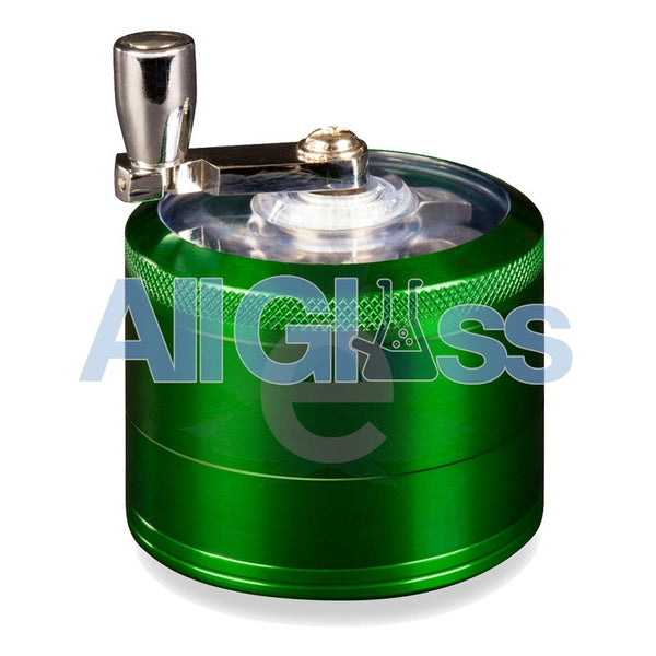 AEROSPACED 4 Piece Grinder/Sifter with Mill Handle , July Sale,Grinders - VapeWorld, eCannabis Shop  - 2