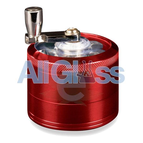 AEROSPACED 4 Piece Grinder/Sifter with Mill Handle , July Sale,Grinders - VapeWorld, eCannabis Shop  - 3