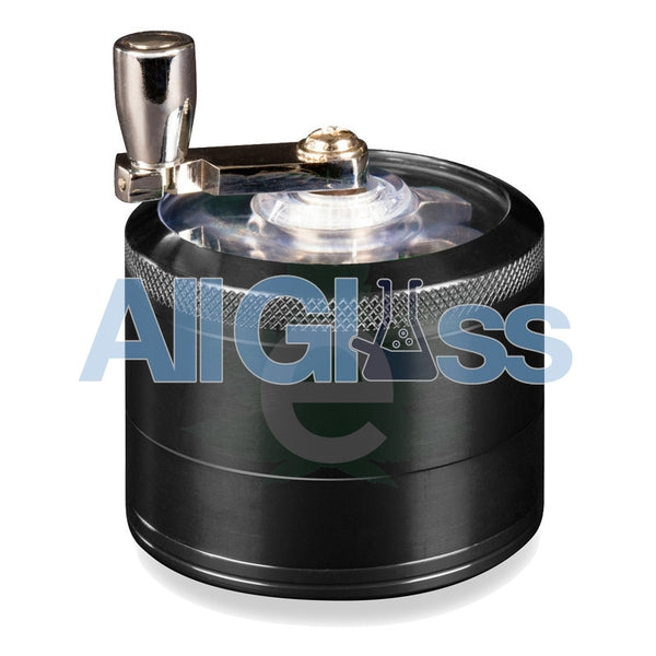 AEROSPACED 4 Piece Grinder/Sifter with Mill Handle , July Sale,Grinders - VapeWorld, eCannabis Shop  - 4