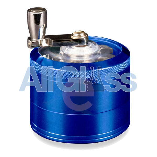 AEROSPACED 4 Piece Grinder/Sifter with Mill Handle , July Sale,Grinders - VapeWorld, eCannabis Shop  - 5