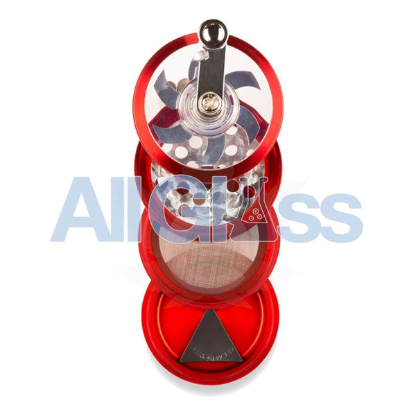 AEROSPACED 4 Piece Grinder/Sifter with Mill Handle , July Sale,Grinders - VapeWorld, eCannabis Shop  - 7