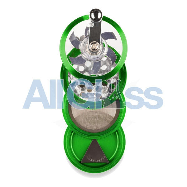 AEROSPACED 4 Piece Grinder/Sifter with Mill Handle , July Sale,Grinders - VapeWorld, eCannabis Shop  - 8