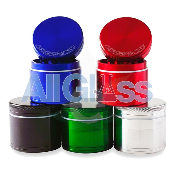 AEROSPACED 4 Piece Grinder/Sifter with Removable Screen , July Sale,Grinders - VapeWorld, eCannabis Shop  - 5