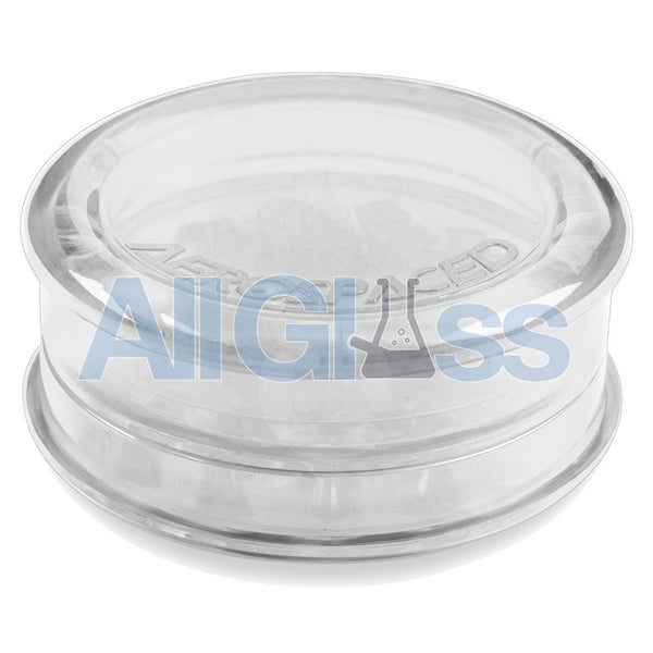 AEROSPACED Acrylic 3 Piece Grinder / Storage Case - Transparent , July Sale,Grinders - VapeWorld, eCannabis Shop  - 7