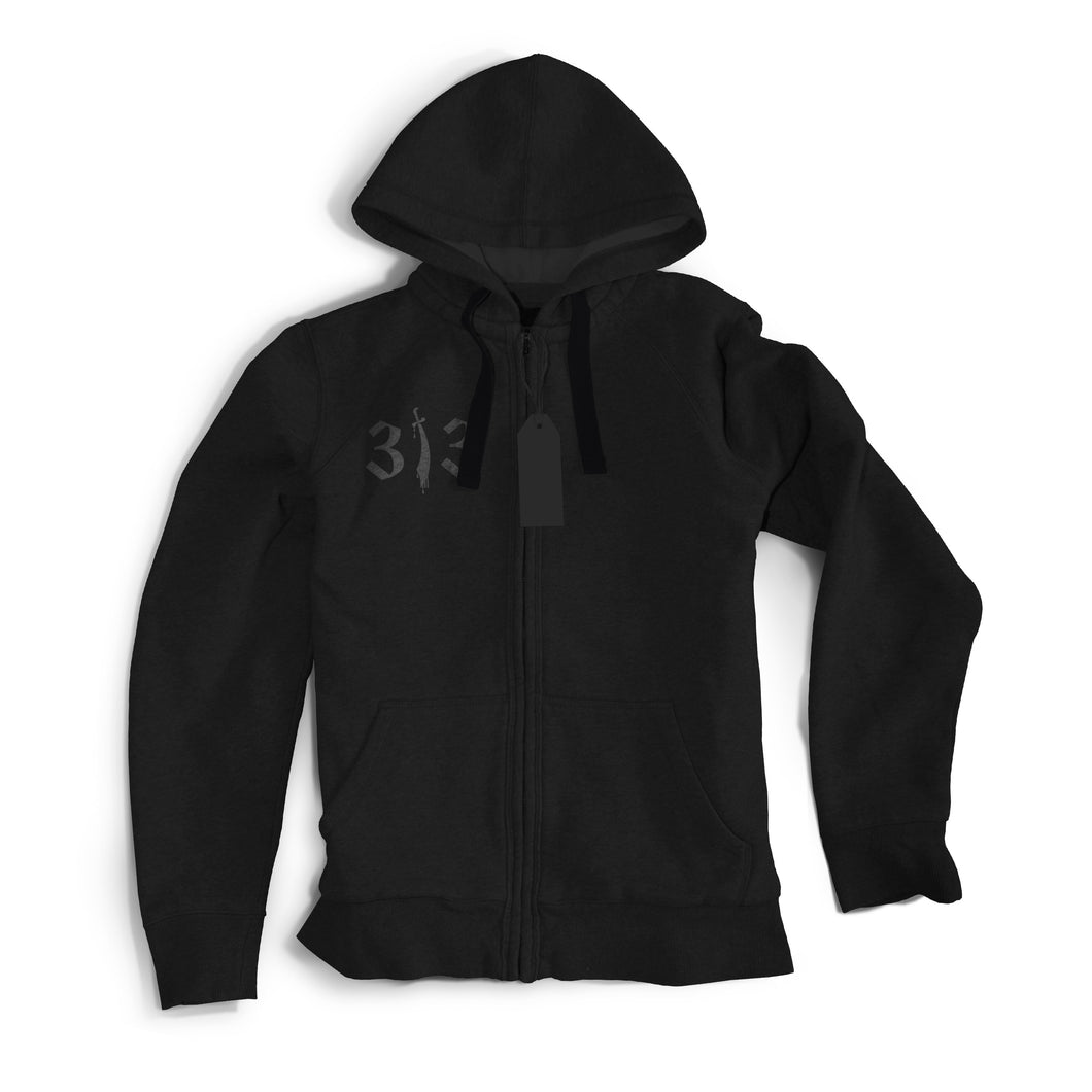 313 Light Zip-Up Sweater