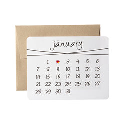 the diy calendar cards