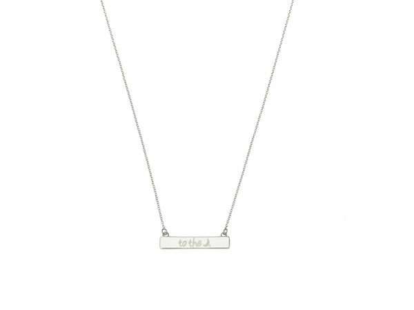 the to the moon necklace