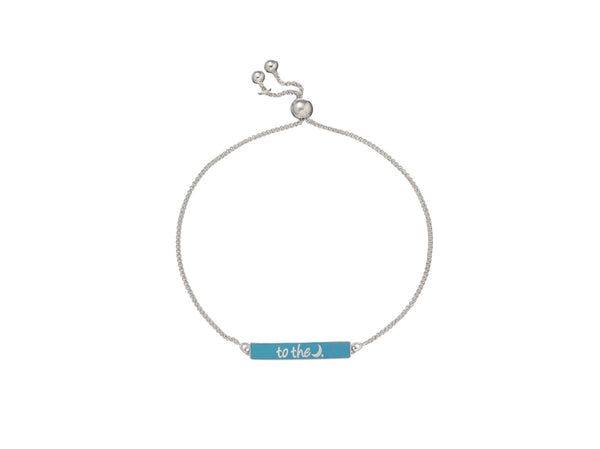 the to the moon bracelet