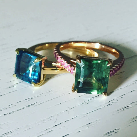 custom engagement & statement rings