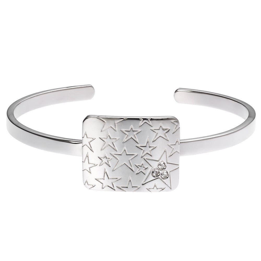 the lucky star cuff bracelet