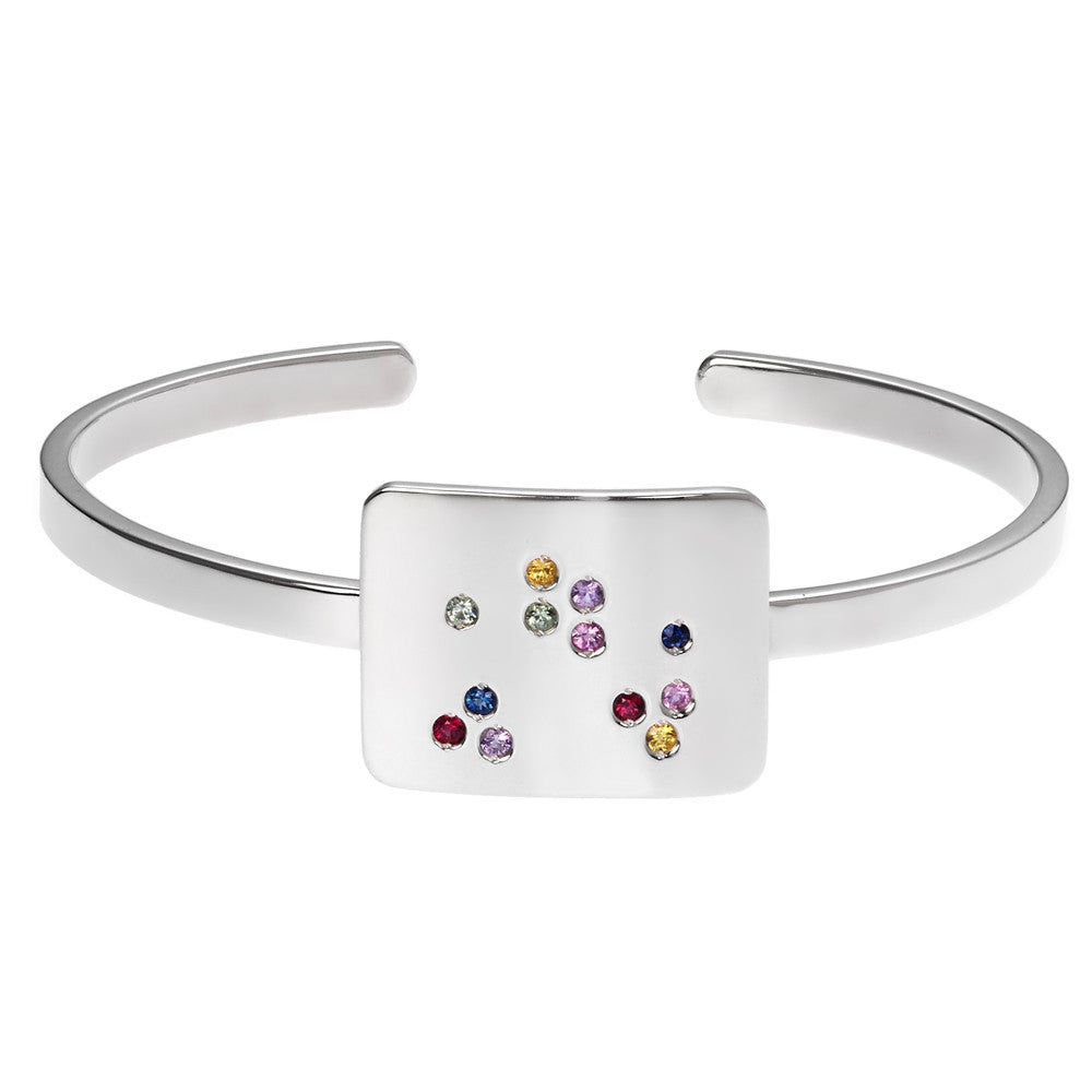 the scatter cuff bracelet