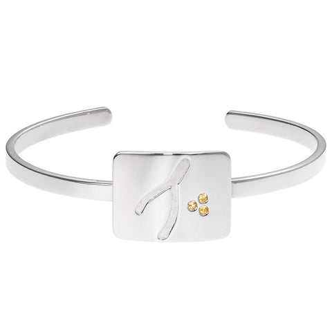 the wishbone cuff bracelet