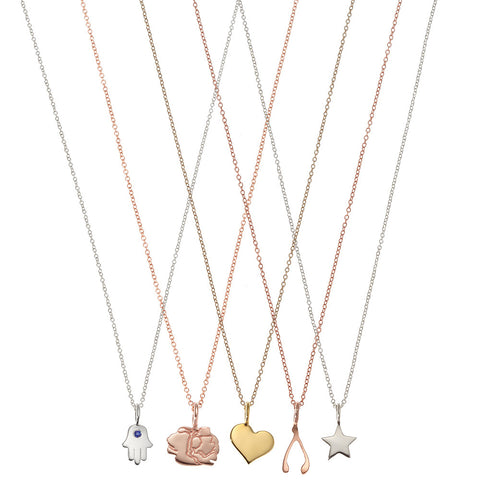 the little lucky charm necklace