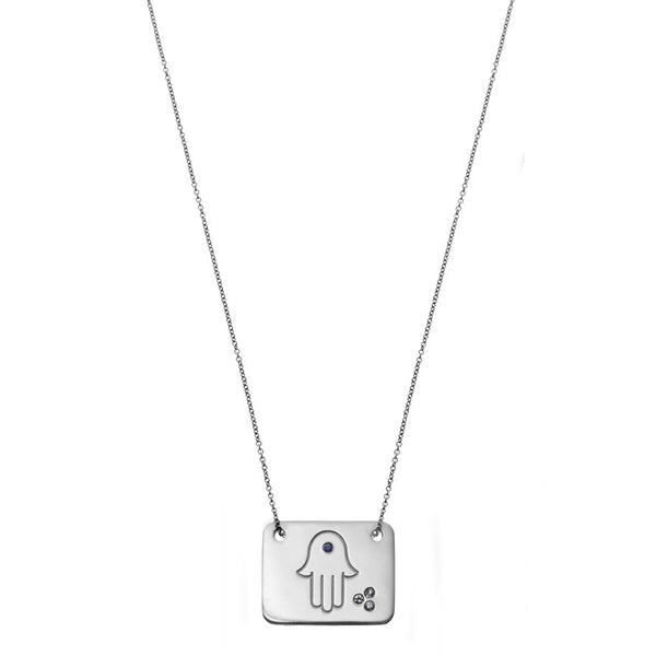 the hamsa necklace