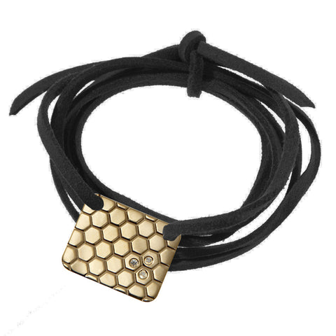 the honeycomb wrap bracelet