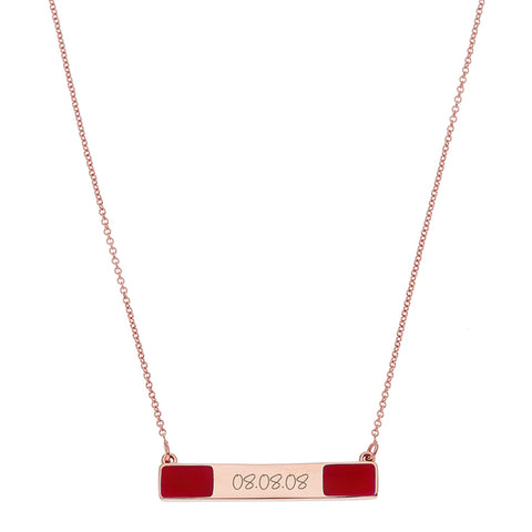 the date necklace