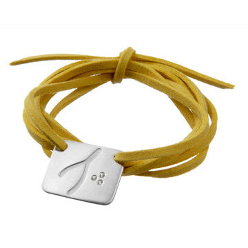 the wishbone wrap bracelet