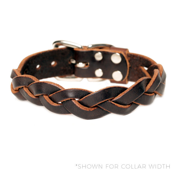 "HC Signature - 1"" Braided Collars"